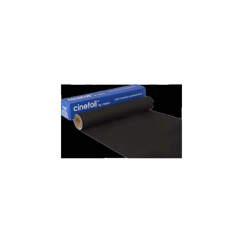 CINEFOIL BOXED Rolle 0.304 x 15.24m, schwarz