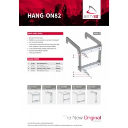 Hang-on82 truss M39 to M39S-T H?ngeadapter