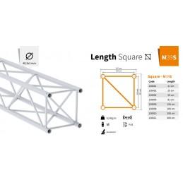 M39S-L050 Poutre carrée longueur 50cm