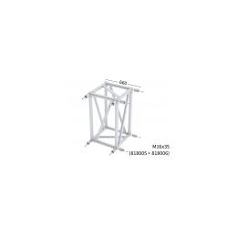 XL101R Box-Corner für Rechteckstraverse