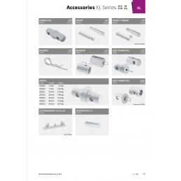 XL101R-L100 Gerade 4-Punkt Rechteckstraverse Länge 100cm