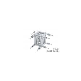 L35R Box corner pour structure 4 points rectangle