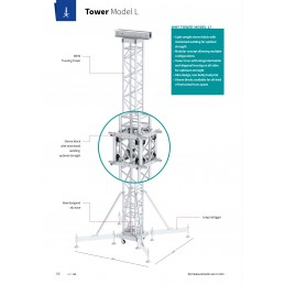 Berceau moteur pour Tower mod?le L truss L52S