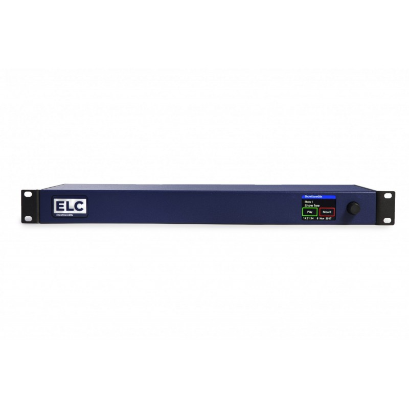 ELC showSTORE real time 2048 Channel DMX recorder