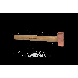 Marteau en cuivre pour structure