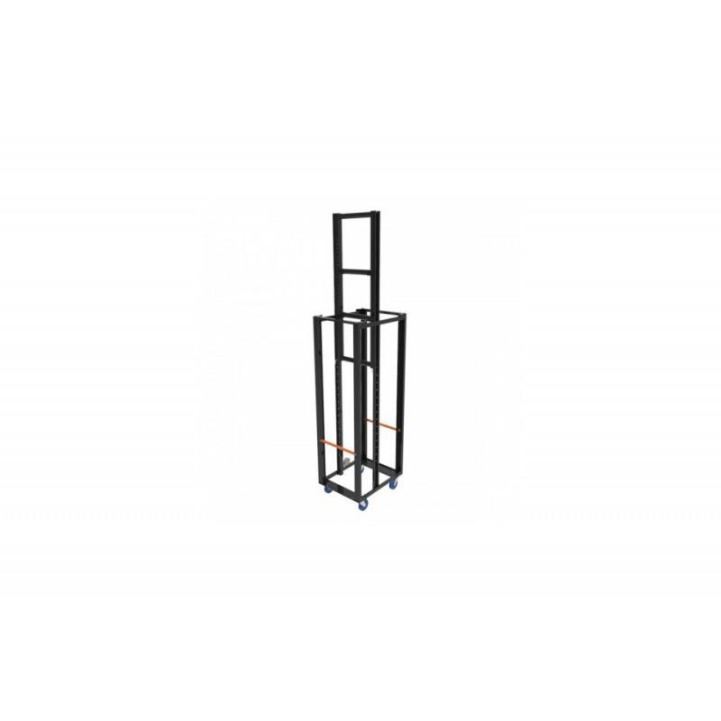 SidelightTower Asymmetrisch H203x L80 2x Rolle/ 2x Rolle mit Bremse