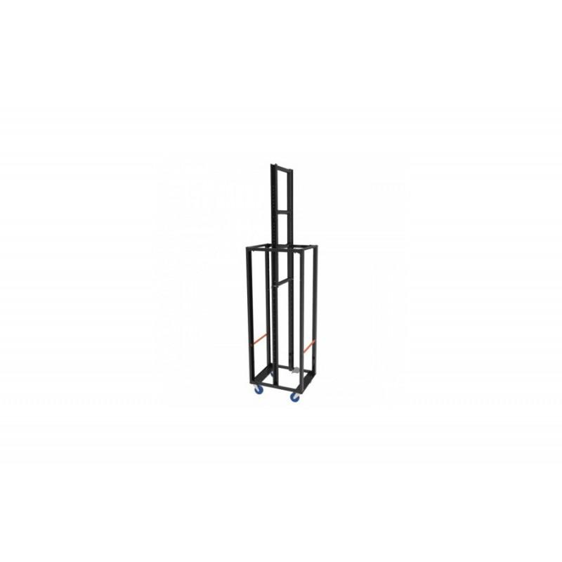 Sidelight Tower symmetrisch H203x L80 2x Lenkrolle / 2x Lenkrolle mit Bremse
