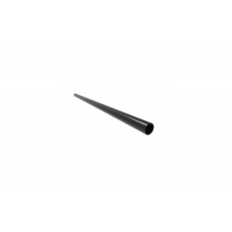 Aufhängungsrohr rund Ø 48mm - Länge 210 cm schwarz