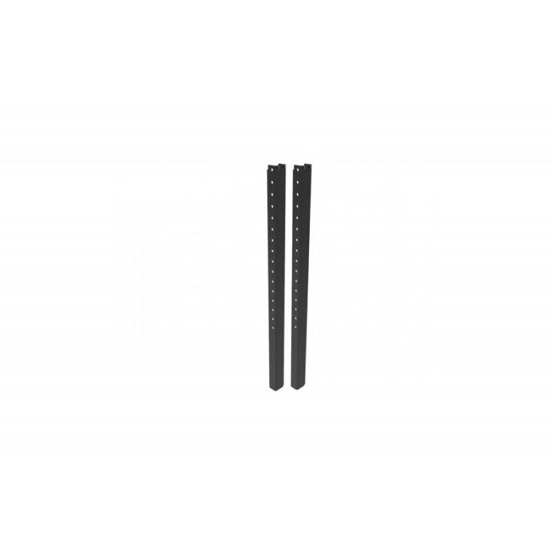 Center Position Brackets Mittelsteg 110cm schwarz, inkl. Schrauben Set