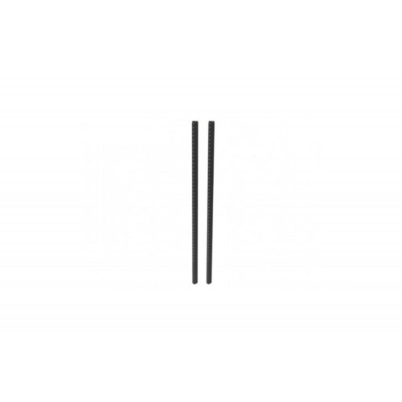 Center Position Brackets Mittelsteg 203cm schwarz, inkl. Schrauben Set