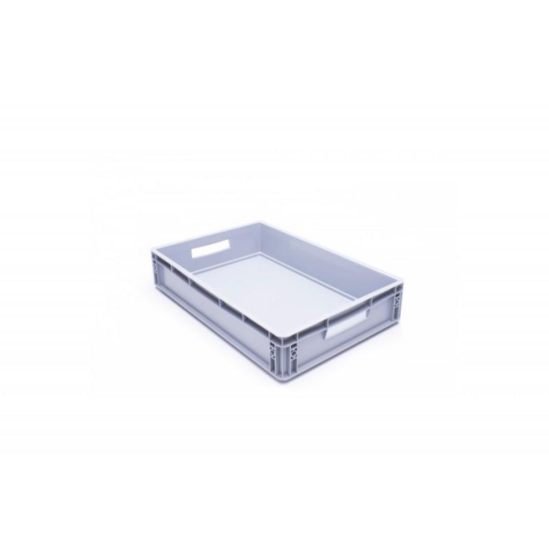 Eurobehälter, grau, 60x 40x 12cm