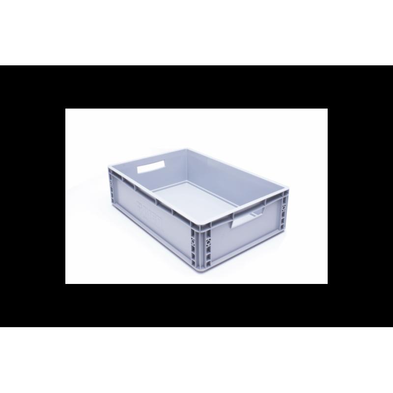 Eurobehälter, grau, 60x 40x 17cm