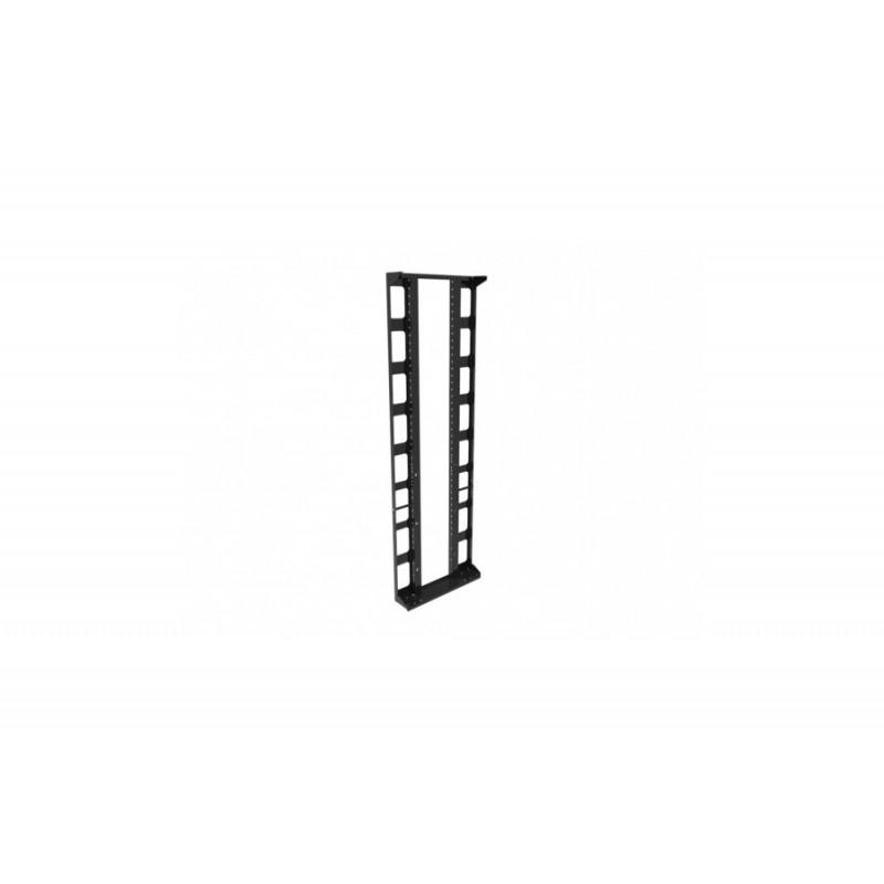 Fork-Side Seitenpanel, schwarz, H 203cm mit Greiffen
