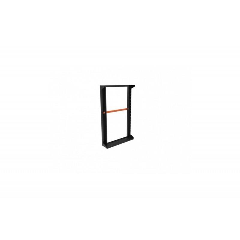 Slim-Line Seitenpanel, schwarz, H110 mit Griffen