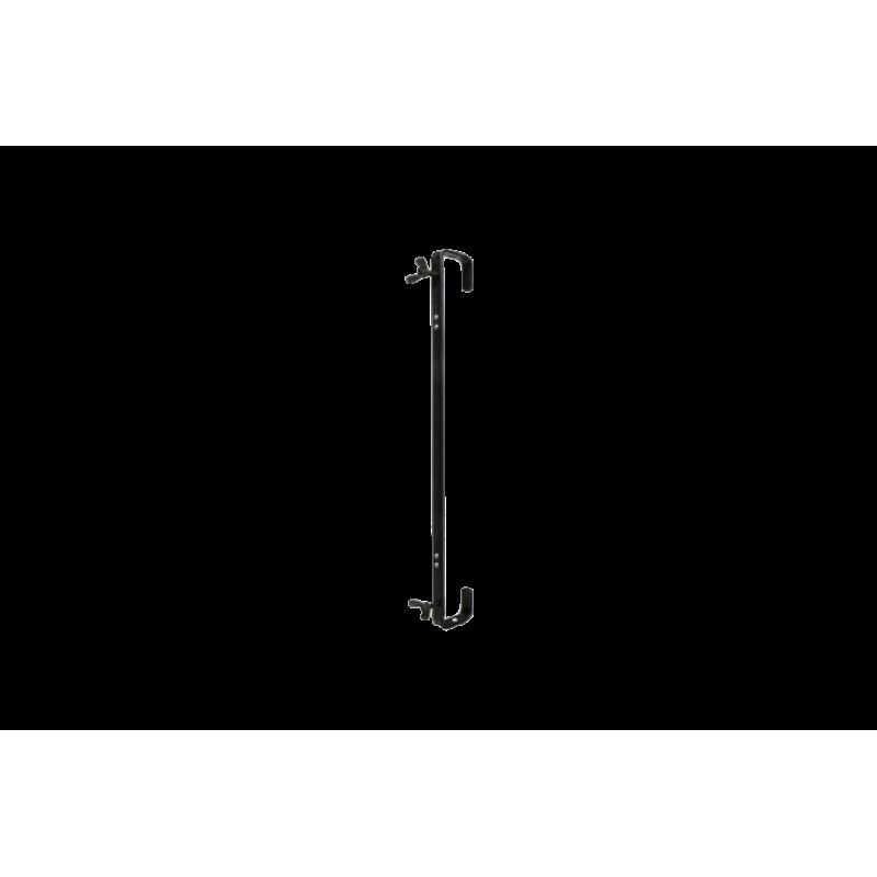 Crochet en C 600mm, 50kg, noir