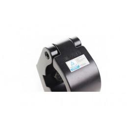 Demi-coupleur 60mm 50mm CMU 750kg collier de serrage noir