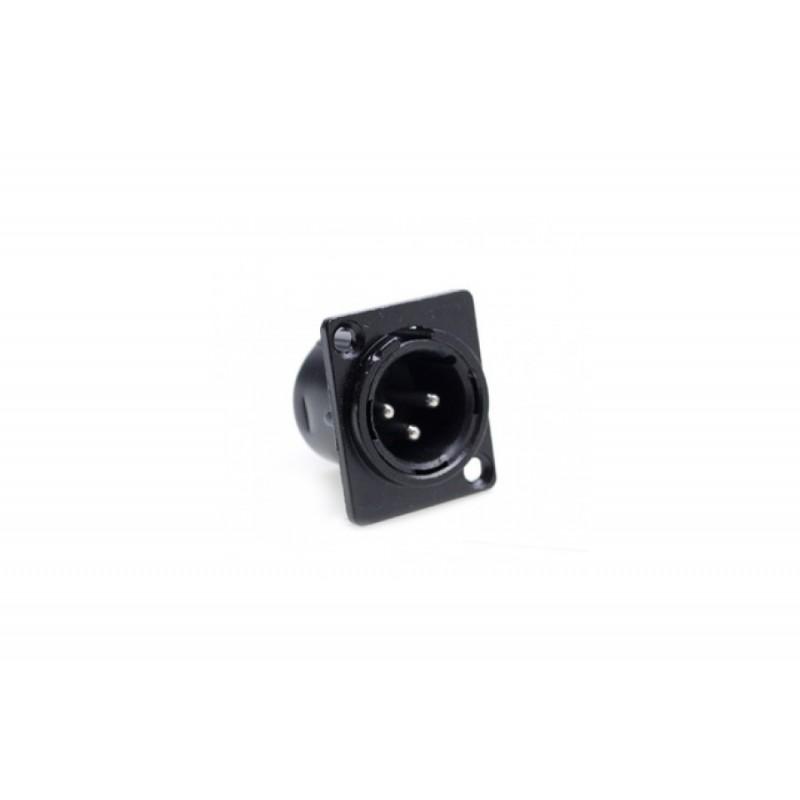 XLR-Stecker (Chassis) 3-Pol Male 5 Stück