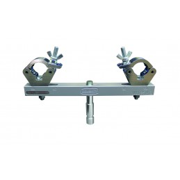 Solid Fixed Truss Adaptor, 250kg, silber