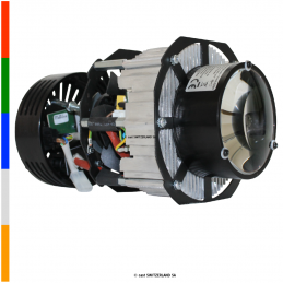HPLED II C5 RETROFIT | RGBAW, noir